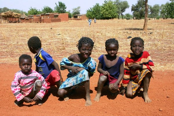 Children in Burkina Faso