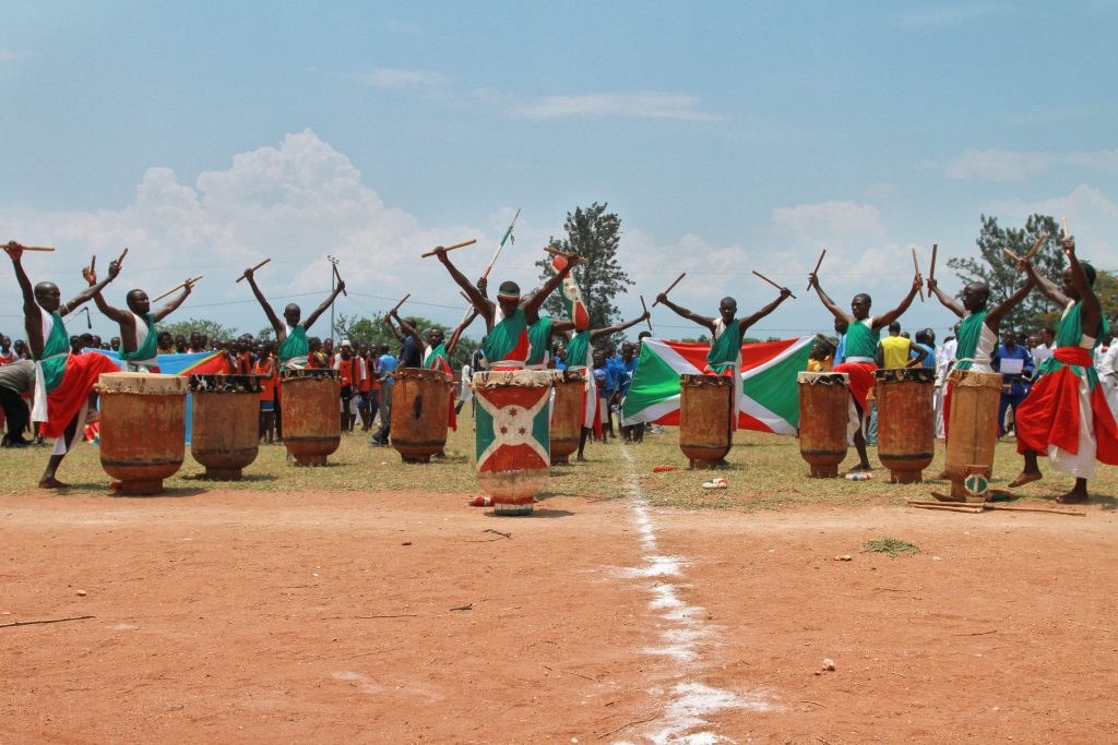 A celebration in Burundi